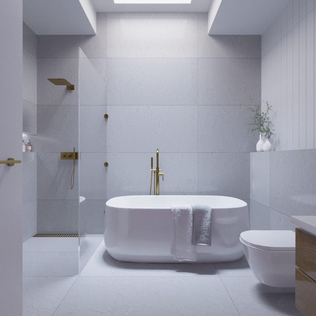 wnętrze łazienka modeller